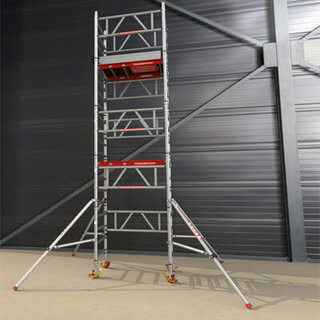 hire vs rent scaffold tower